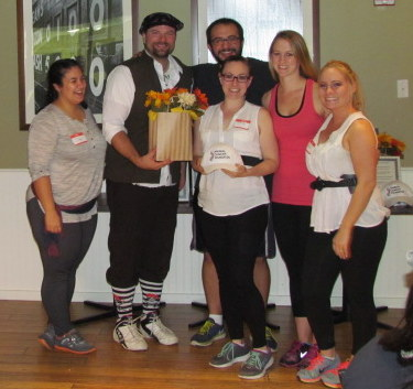 "MVC's ""Pirates of the Cure-A-Being come in at a respectable 3rd place - AFC Veterinary Challenge 2015 – Manchester Vet Clinic - CT"