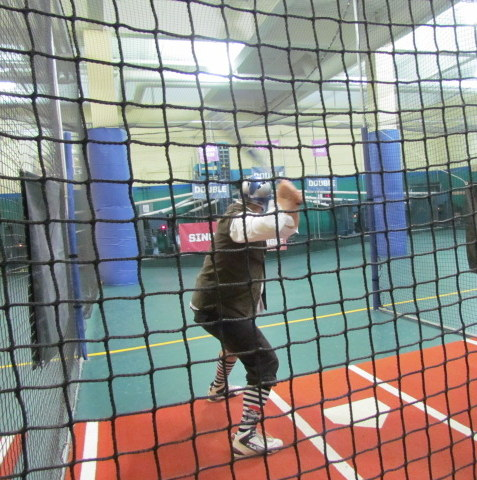 AFC Technician Chris in the Batting Cages - Veterinary Challenge 2015 – Manchester Vet Clinic - CT